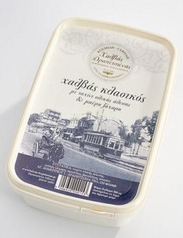 Oryginalna grecka chałwa razowa słodzona brązowym cukrem