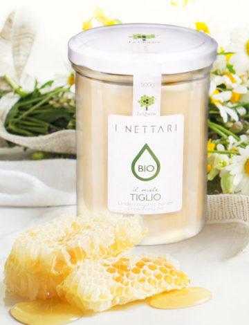 lemonia lequerce miód bio lipowy z piemontu 500g