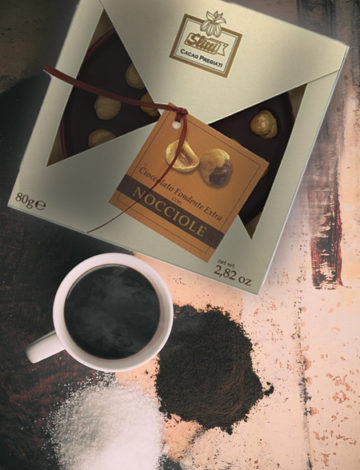 lemonia okrągła czekolada fondente nocciole 80g