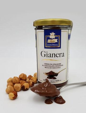 prawdziwie czekoladowy krem gianera 250g lemonia