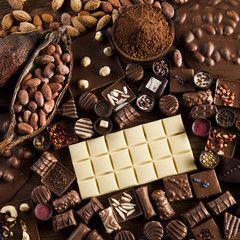 Chałwa i czekolady