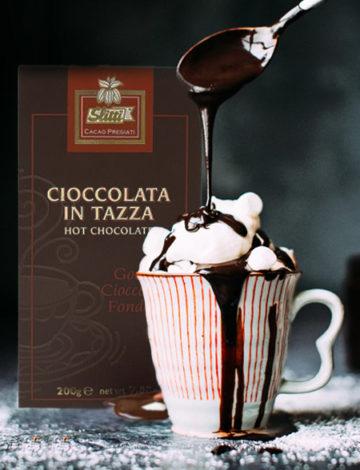 wyborna gęsta gorąca czekolada lemonia 200g
