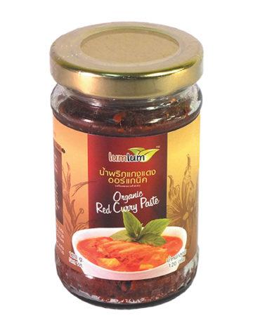 czerwona pasta curry organiczna bio
