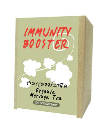 herbata z liśćmi moringa bio